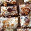 Chocolate Coconut Bars - Magic Cookie Bars