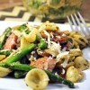 Orecchiette with Chicken Sausage and Asparagus
