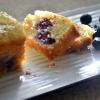 Blueberry Poppy-seed Bread with Orange Glaze