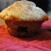 Two for One Plums -- Plum Cardamom Muffins and Plum Rhubarb Compote