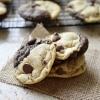 Chocolate and Chocolate Chip Swirl Cookies