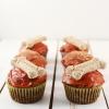 Peanut Butter Dog Cupcakes