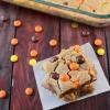 Reeses Pieces Peanut Butter Blondies