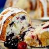 Triple Berry Lemon Bundt Cake