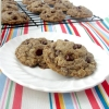 Soft and Chewy Oatmeal Flax Chocolate Chip Cookies (Guest Post by Becky from Love to Be in the Kitchen)