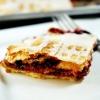 Triple Berry Rhubarb Slab Pie