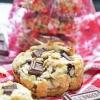 Chocolate Cherry Almond Cookies