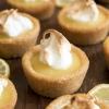 Lemon Meringue Pie Cookie Cups