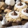 Hershey Kiss S'mores Cookies