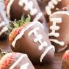 Chocolate Covered Football Strawberries