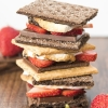 Chocolate Covered Strawberry S'mores