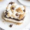 S'mores Cheesecake Bars (No Bake)