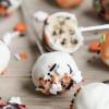 Halloween Cookie Dough Pops