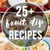 25 Fruit Dip Recipes