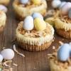 Easter Egg Mini Cheesecakes
