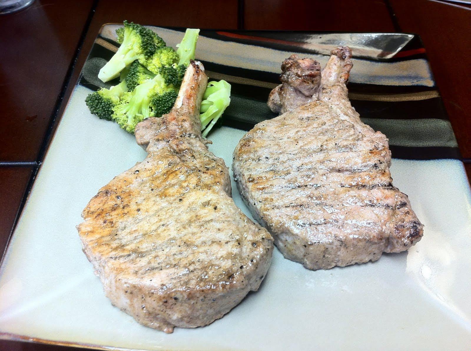 Middle Eastern Spiced Pork Chops