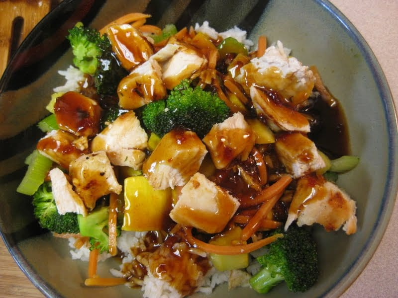 Copycat rumbi hawaiian teriyaki chicken bowl like mother for Aloha asian cuisine