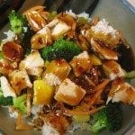 Copycat Rumbi's Hawaiian Teriyaki Chicken Bowl