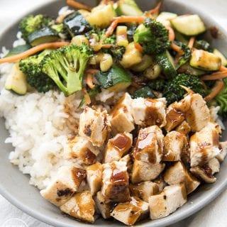 Hawaiian Teriyaki Chicken Bowl Rumbi Copycat