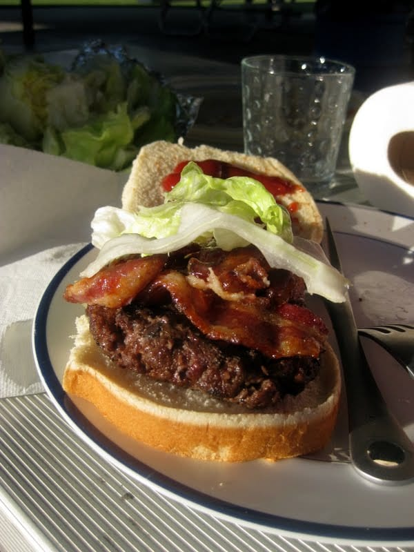 Brown Sugar Bacon Burgers
