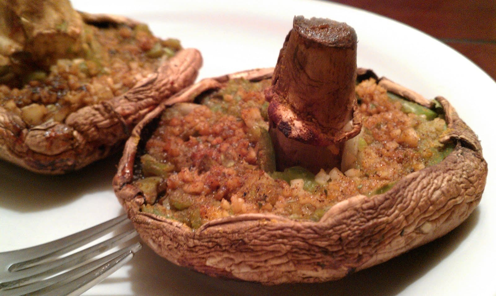 Grilled Portobello Mushrooms - Like Mother, Like Daughter