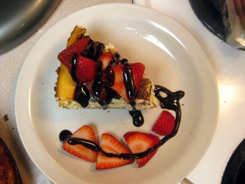 Chocolate Swirled Cheesecake