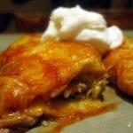 Slow Cooker Pork Enchiladas