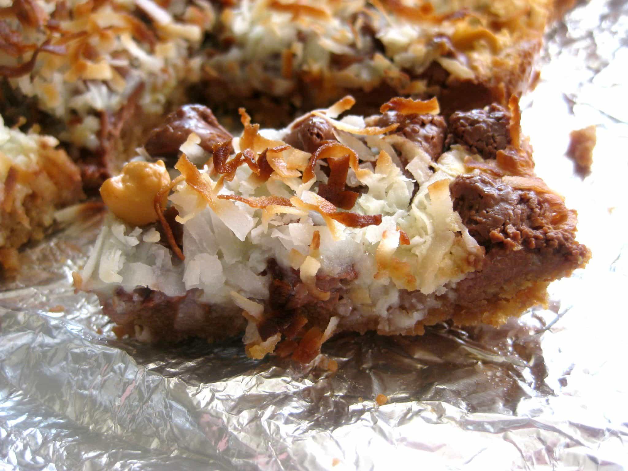 Chocolate Coconut Bars - Magic Cookie Bars - Like Mother, Like ...