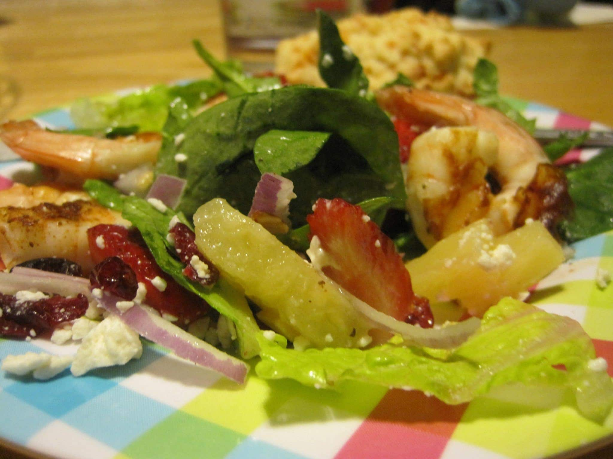 Grilled Shrimp Citrus Salad