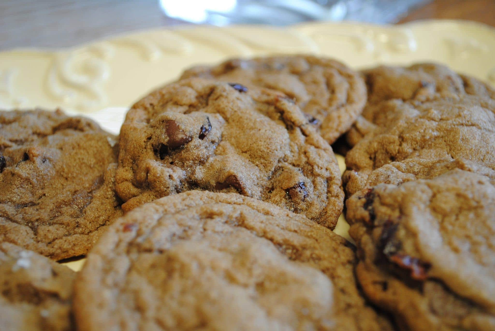 Double chocolate and dried cherries cookies – Like Mother ...