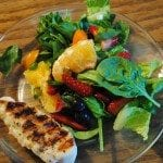 Grilled Chicken Citrus Salad with Citrus Vinaigrette