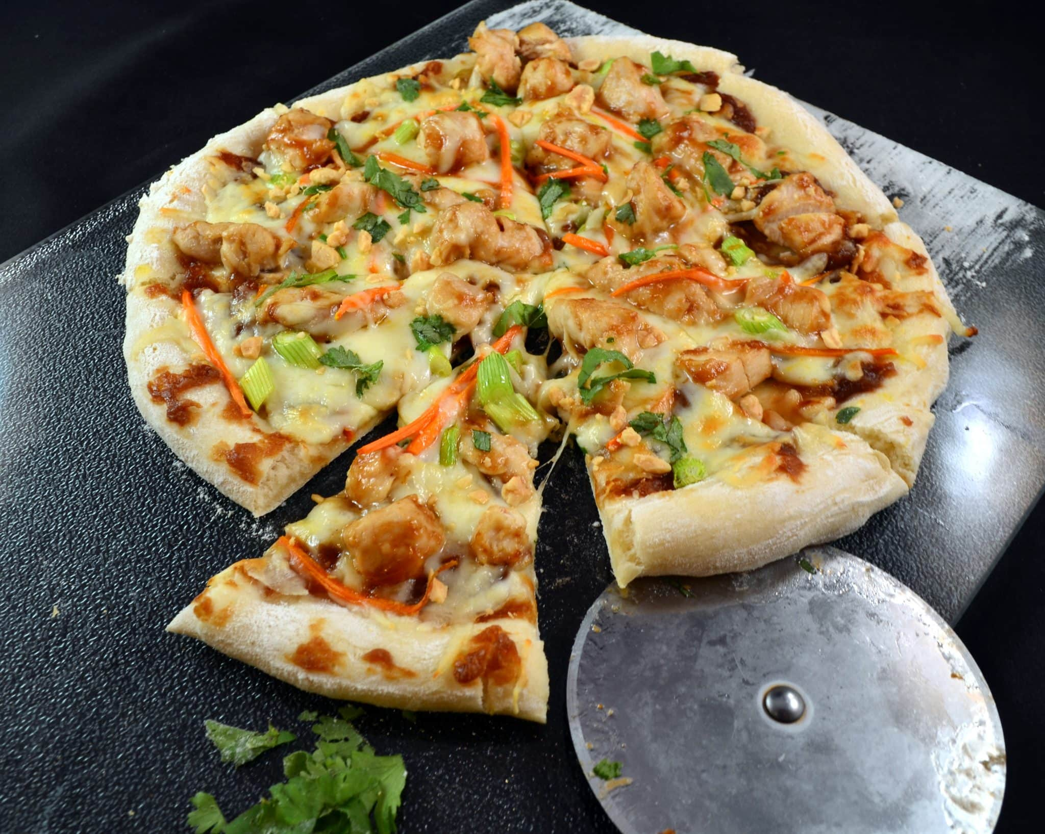 Thai Chicken Pizza – CPK Copycat