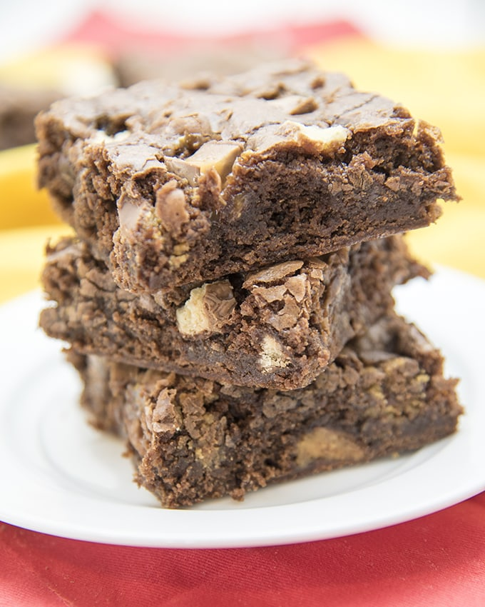 How To Make Brownies Out Of Vanilla Cake Mix