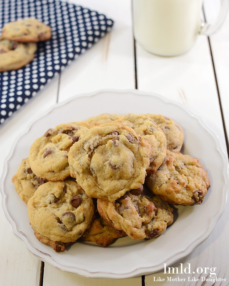 Chocolate Chip Pudding Cookies - Like Mother Like Daughter