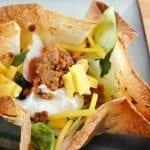 How To: Homemade Taco Bowls