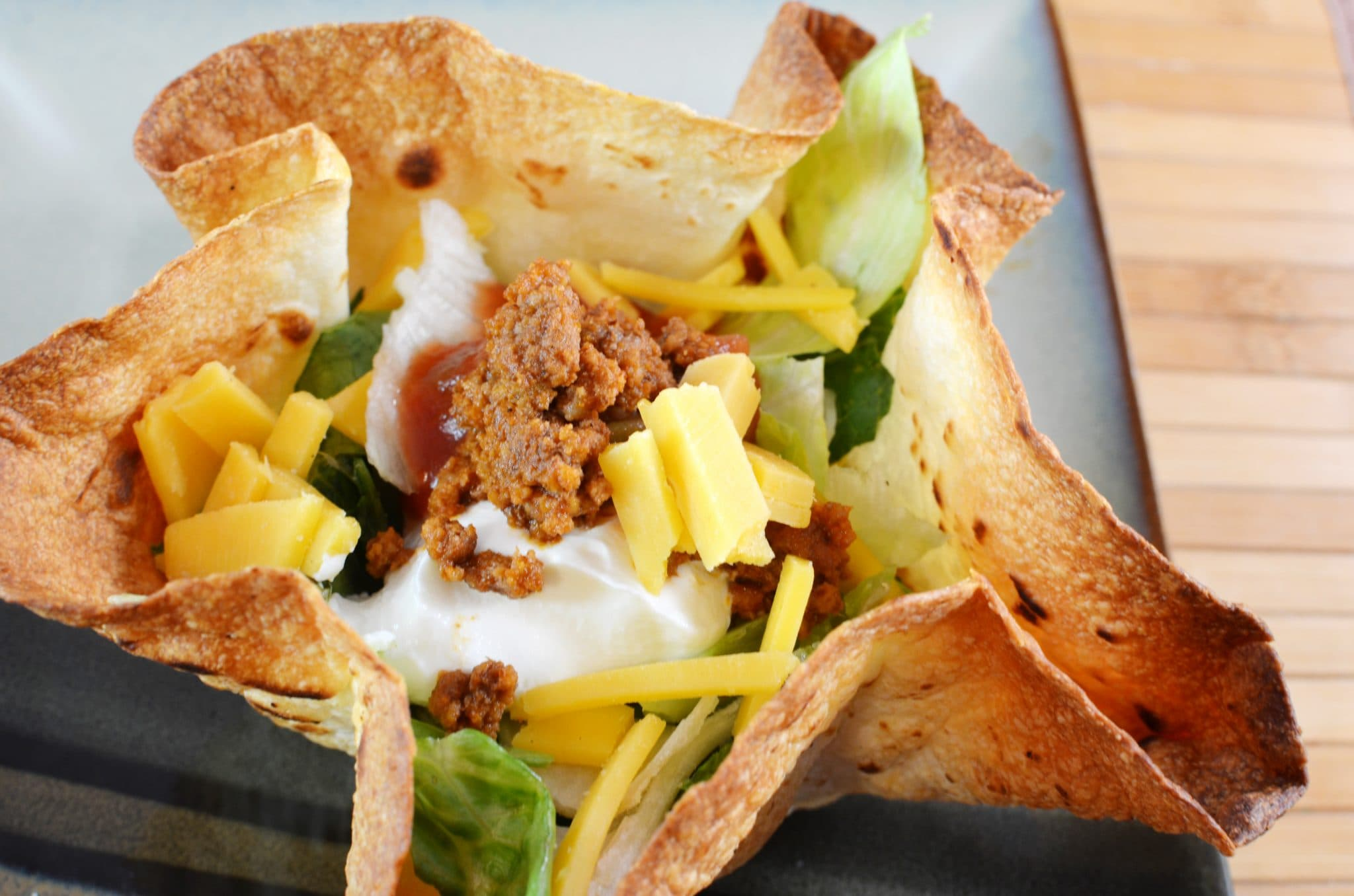 How To: Homemade Taco Bowls