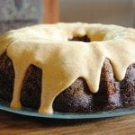 Chocolate Pumpkin Spice Bundt Cake
