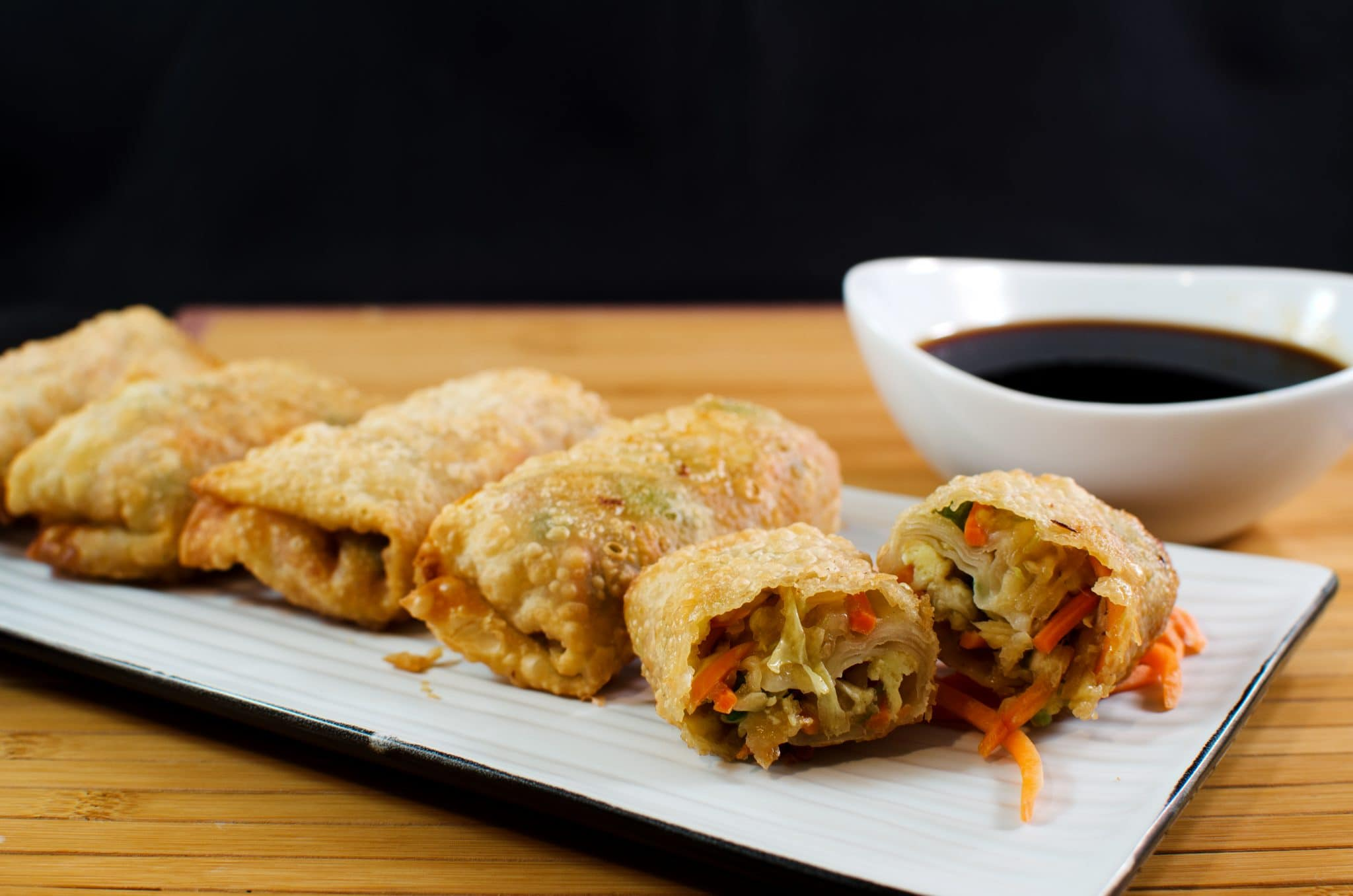 Vegetarian Eggrolls - Like Mother, Like Daughter Vegetarian Egg Rolls