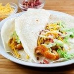 Buffalo Ranch Chicken Tacos (Chili's Crispy Chicken Taco Copycat) (Winger's Sauce Copycat)