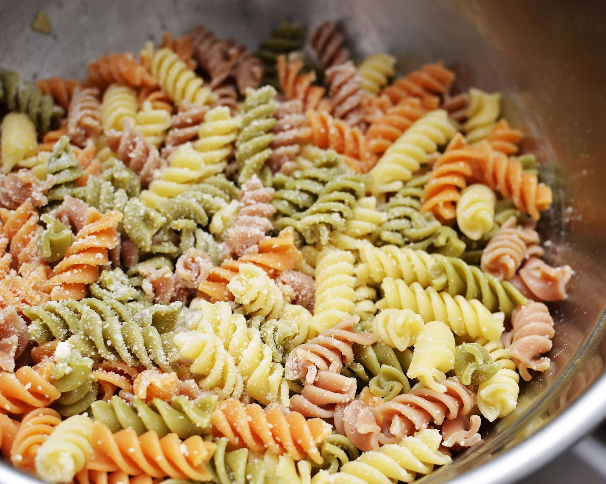 Rotini Pasta Salad With Italian Dressing