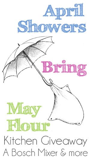 Giveaway Winner – April Showers Bring May…Flour?
