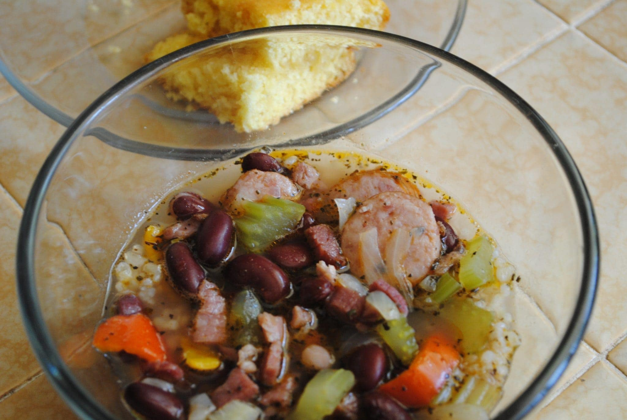 Beans, Rice and Ham Soup