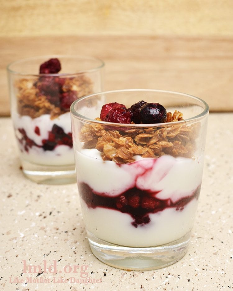 Fruit and Yogurt Parfait - Like Mother, Like Daughter
