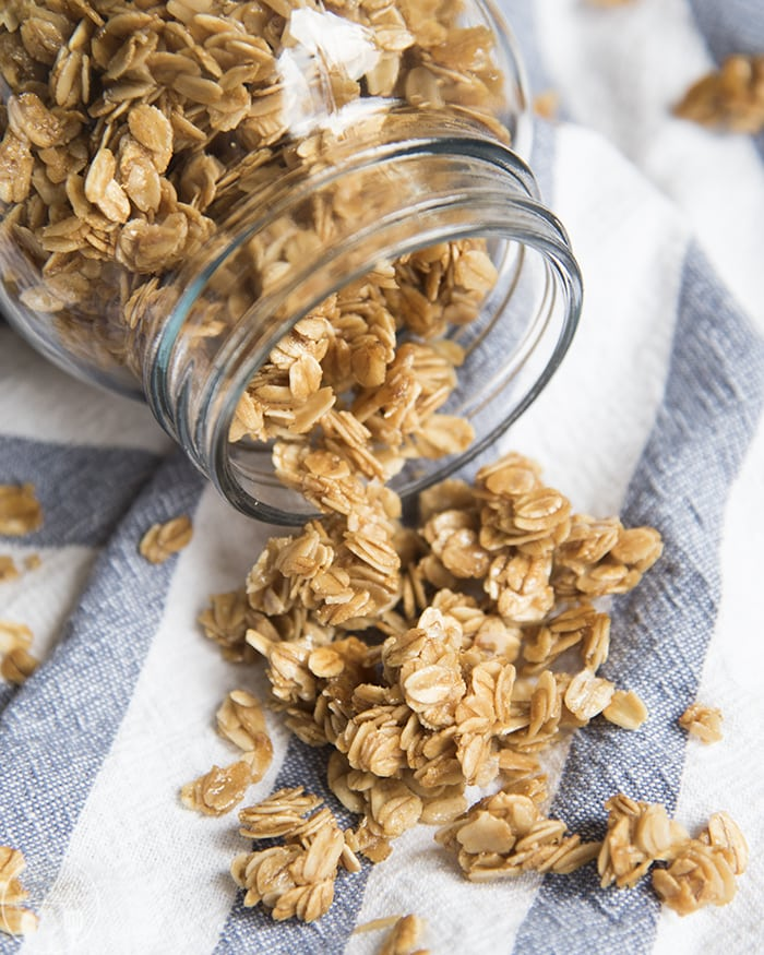how to make granola cereal