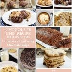 Chocolate Chip Recipe Round Up