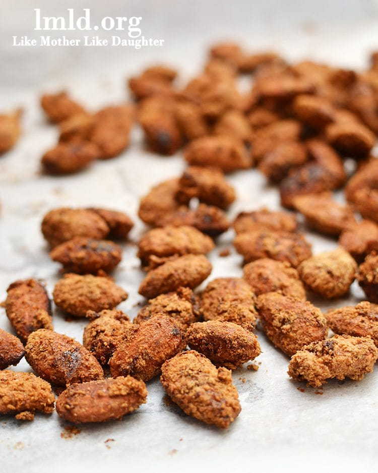 Candied Almonds - Like Mother Like Daughter