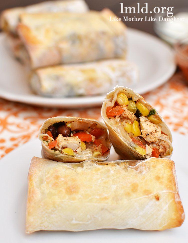 recipe: southwest chicken egg rolls [31]