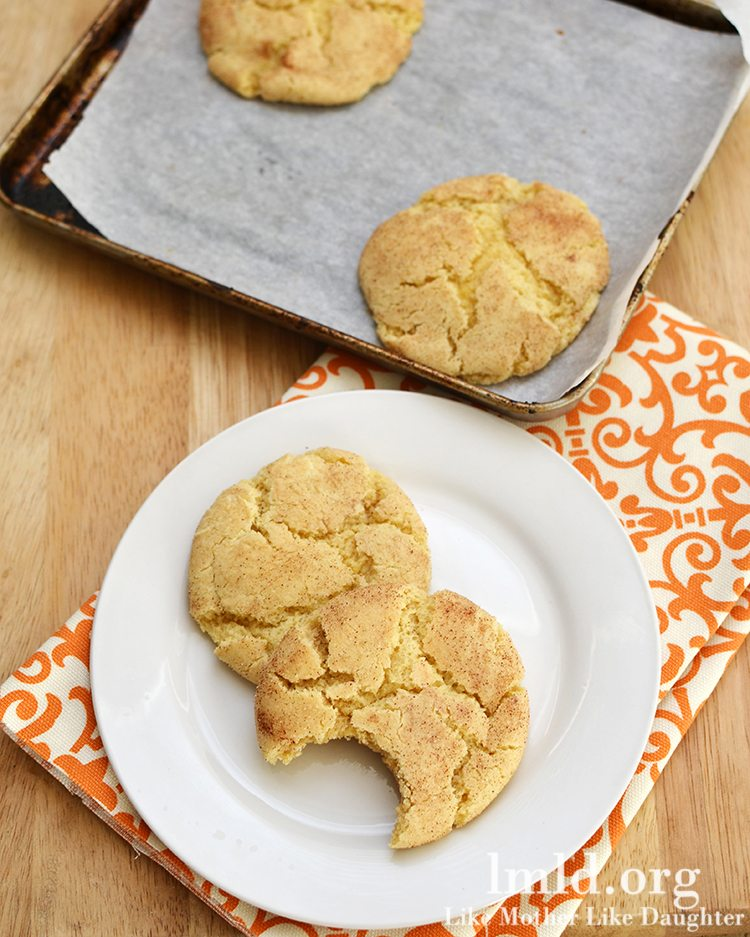 Snickerdoodle Cookies for Two