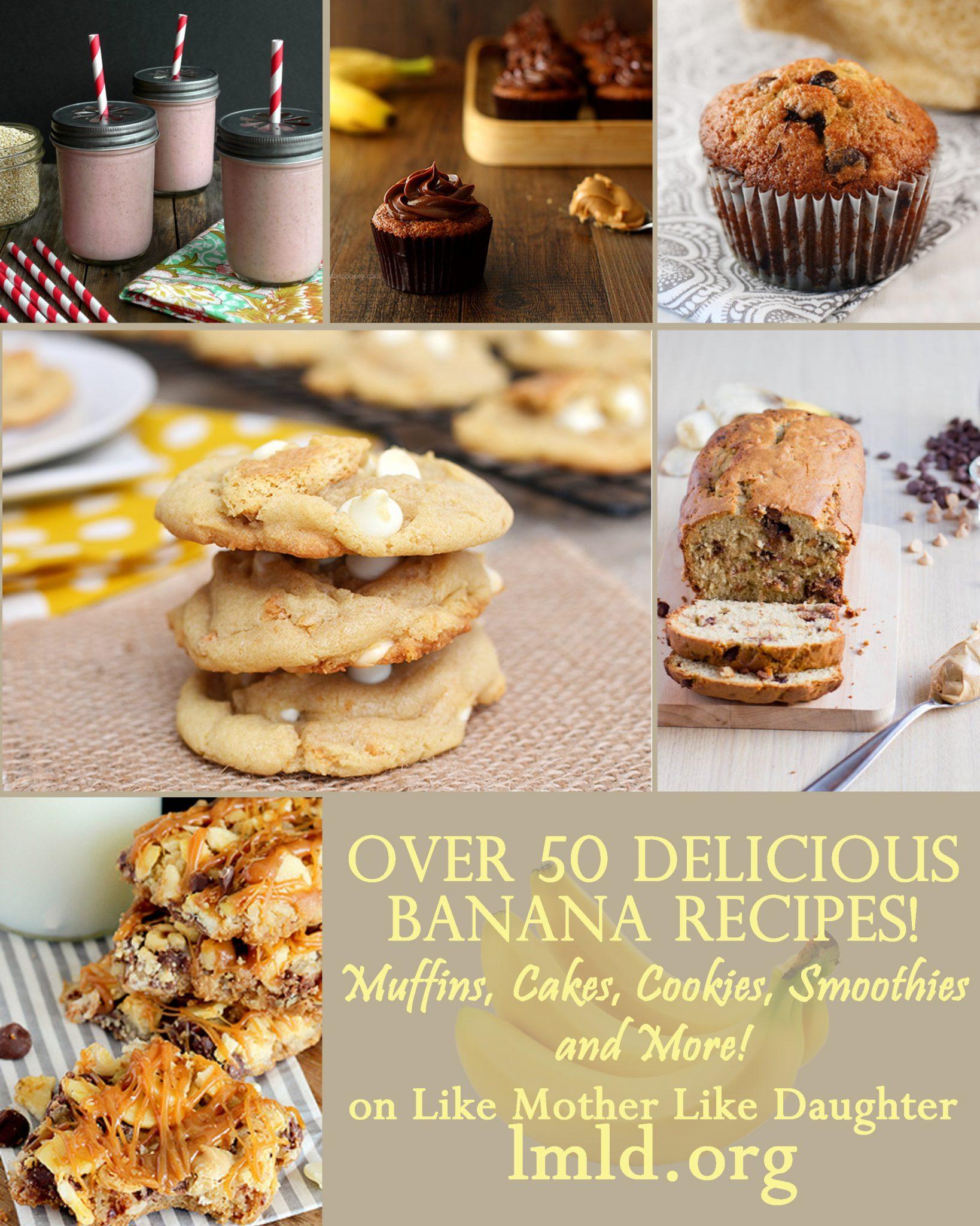 Banana Lovers Day – 50+ Banana Recipes!