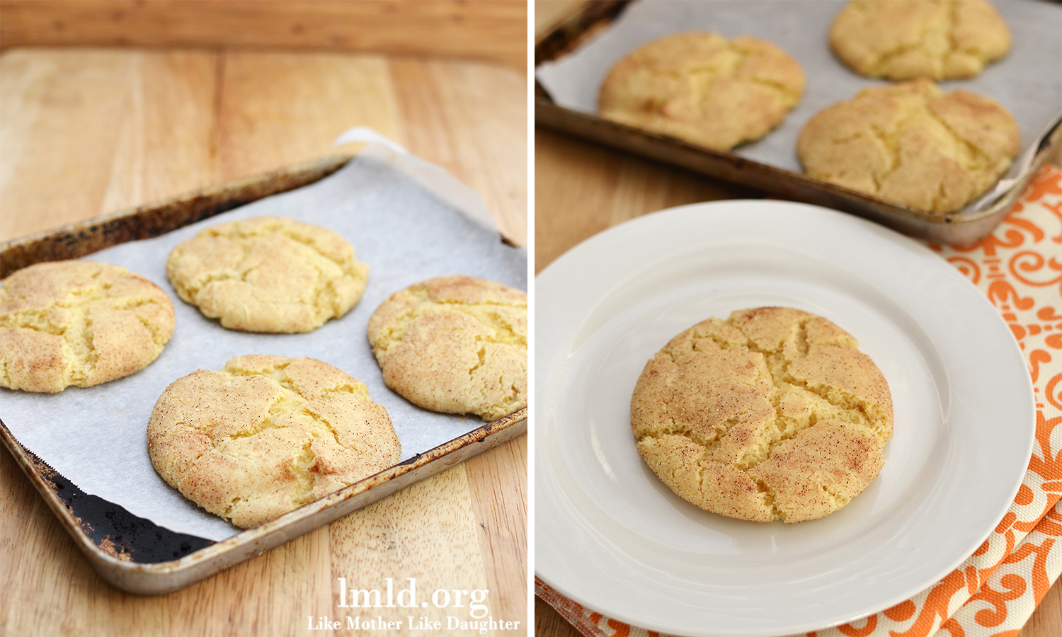 these snickerdoodles for two more than my regular snickerdoodle recipe ...